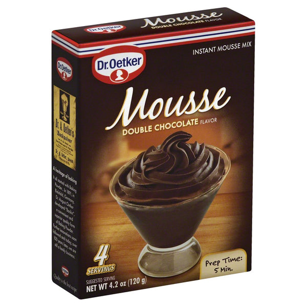DR OETKER: Mousse Supreme Double Chocolate, 4.2 oz - Go Steampunk