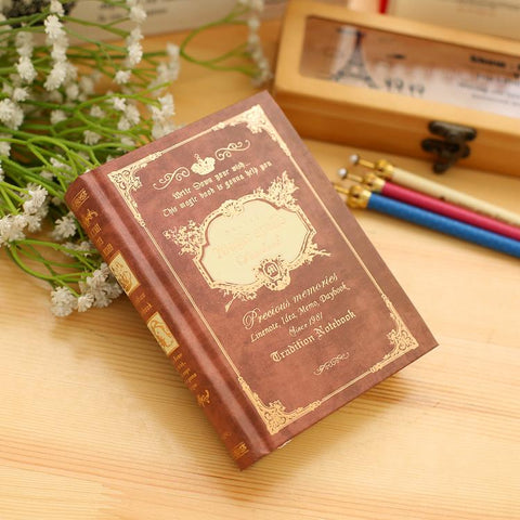 Vintage Handcover Magic Spells Pocket Book Planner Journal Diary