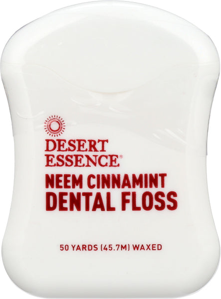 DESERT ESSENCE: Neem Cinnamint Dental Floss, 1 ea