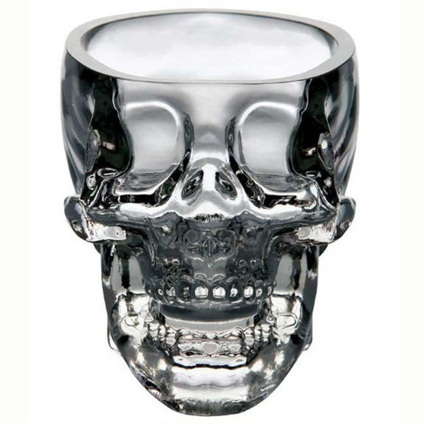 Crystal Skull Head Shot Glass - Go Steampunk