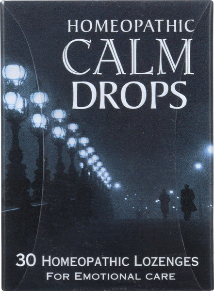 HISTORICAL REMEDIES: Homeopathic Calm Drops, 30 Lozenges - Go Steampunk
