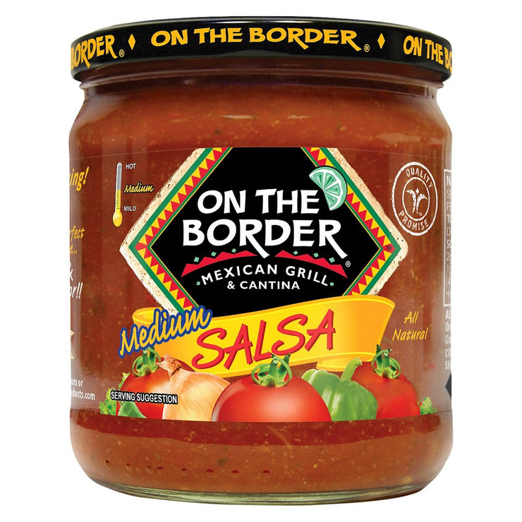 BORDER: Salsa Medium, 16 oz