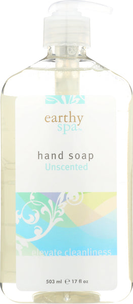 EARTHY: Unscented Hand Soap, 17 oz