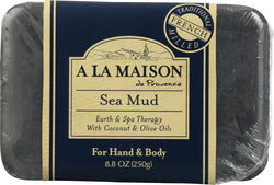 A LA MAISON: Soap Bar Earth Spa Sea Mud, 8.8 oz