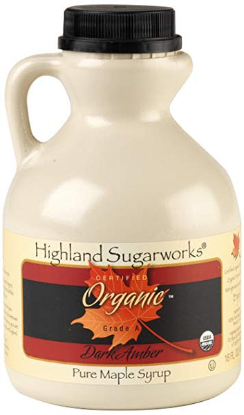 HIGHLAND: Syrup Maple US Amber Jug, 16 oz