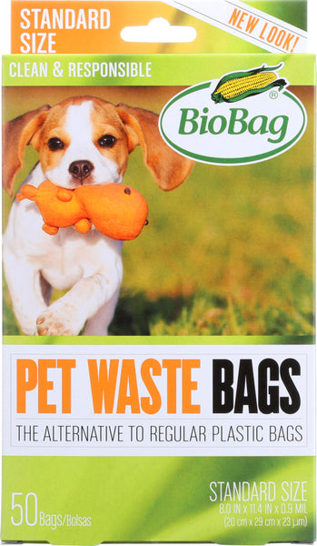 BIOBAG: Pet Waste Bags, 50 pc - Go Steampunk