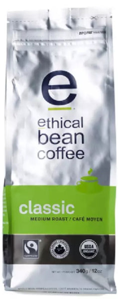 ETHICAL BEAN: Coffee Medium Roast Classic, 12 oz