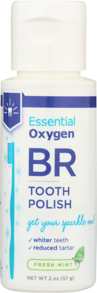 ESSENTIAL OXYGEN: Fresh Mint Tooth Polish, 2 oz