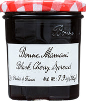 BONNE MAMAN: Black Cherry Spread, 7.9 oz
