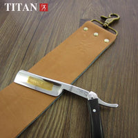Leather and Denim Double Sided Razor Strop - Go Steampunk