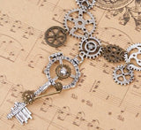 Steampunk Statement Necklace - Go Steampunk