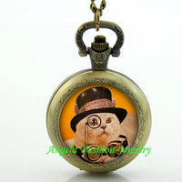 Steampunk Cat Pocket Watch 13 - Go Steampunk
