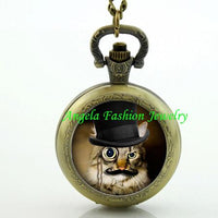 Steampunk Cat Pocket Watch 6 - Go Steampunk