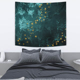 "Mystical Stars D2 Wall Tapestry TapestryMystical Stars D2 Wall Tapestry / Medium 80"" x 68"" - Go Steampunk"