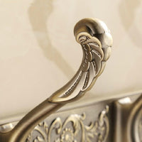 Carved Antique Style Row Hooks - Go Steampunk