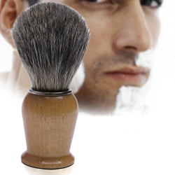 Badger Hair Wood Handled Shaving Brush