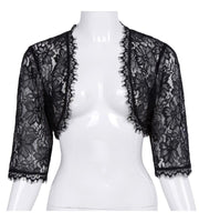 Lace Bolero Jacket Black Lace Bolero / S - Go Steampunk