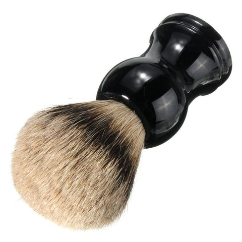 Vintage Black Badger Hair Bristle Shaving Brush