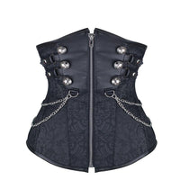 Double Breasted Steampunk Underbust Corsets - Go Steampunk