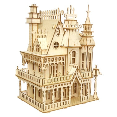 Victorian Mansion Model Kit Original ecology - Go Steampunk