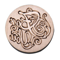 Wood Metal Sealing Wax Stamp - Go Steampunk