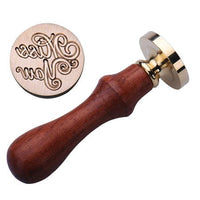 Wood Metal Sealing Wax Stamp F - Go Steampunk