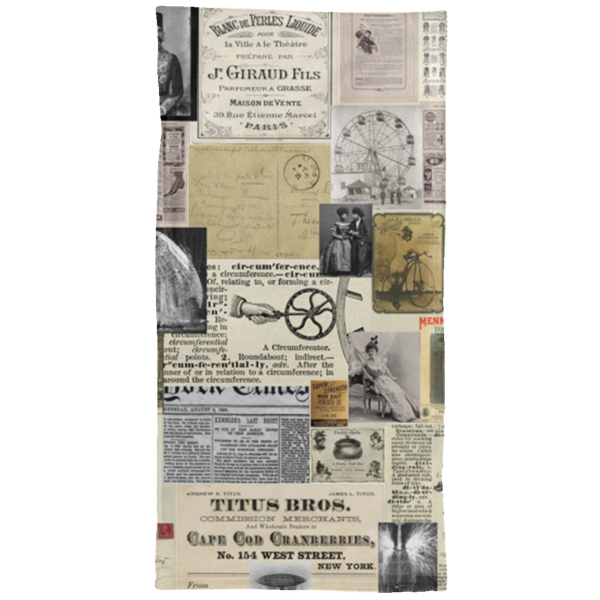 Antique Ads Hand Towel - 15x30 White / One Size - Go Steampunk