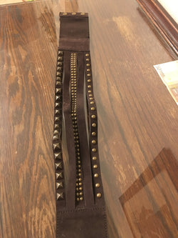 Studded Strappy Belt