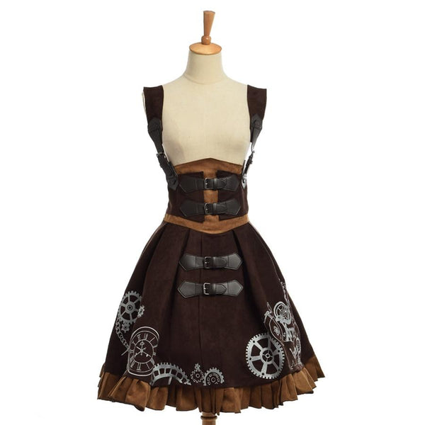 Elegant Steampunk Lolita Dress