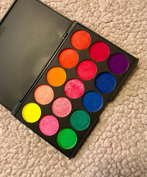 UV Blacklight Eye Shadow Palette