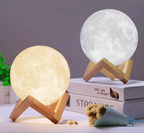 Rechargeable Moon Lamp - Go Steampunk