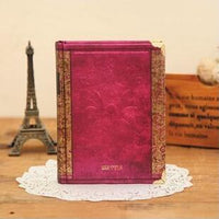 Vintage Hardcover Notebook Dairy Journal Purple / Small - Go Steampunk