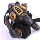 Gold Metallic Resin Gas Mask - Go Steampunk