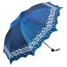 Load image into Gallery viewer, Paradise Full Color Umbrella Blue - Go Steampunk