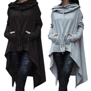 Long Pullover Plus Size Hoodie - Go Steampunk
