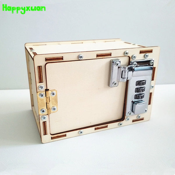 DIY Lock Box Building Kit Default Title - Go Steampunk
