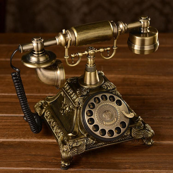 Vintage Rotary Dial Landline Telephone - Go Steampunk