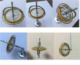 Traditional Metal Gyroscope