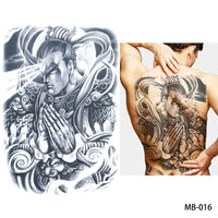 Full back, chest, or body temporary tattoo MB 016 - Go Steampunk