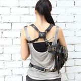 Steampunk Skulls Messenger shoulder/hip bag