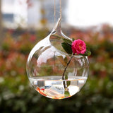 Hanging Hydroponic Friendly Vase Terrarium Default Title - Go Steampunk