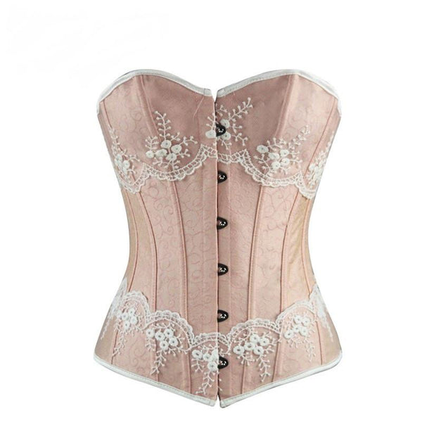 Strawberries and Cream Lace Corset