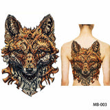 Full back, chest, or body temporary tattoo MB 003 - Go Steampunk