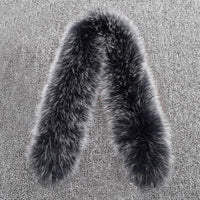 Natural Genuine Fox Fur Collar - Go Steampunk