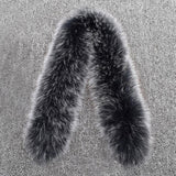 Natural Genuine Fox Fur Collar