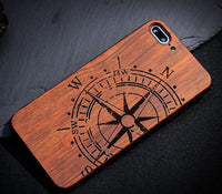 Original Bamboo Wood Phone Case For Iphone 7 7Plus 5 5S SE 6 6S Plus - Go Steampunk