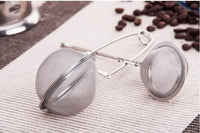 Stainless Steel Mesh Ball Tea Strainer - Go Steampunk