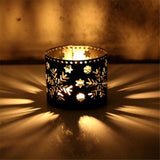 Xms Shillouette Tealight Candlestick F - Go Steampunk