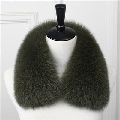Genuine Fox Fur Collar A - Go Steampunk