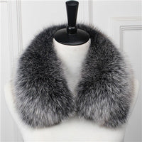 Genuine Fox Fur Collar B - Go Steampunk